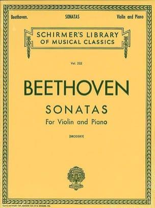 BEETHOVEN - Sonatas for violin and piano - Sheet Music - di-arezzo.co.uk