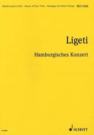 György Ligeti - Hamburgishes Konzert - Partition - di-arezzo.fr