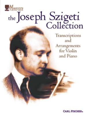 Collection Szigeti - The Josef Szigeti Collection - Sheet Music - di-arezzo.co.uk