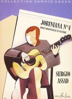 Sergio Assad - Jobiniana n°4 - Partition - di-arezzo.fr