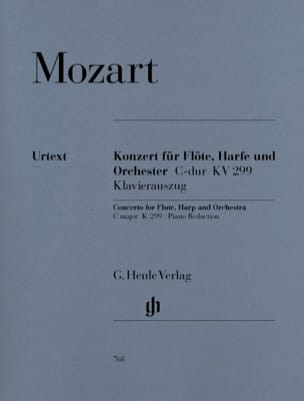 MOZART - C Major Concerto K. 299 297c for Flute, Harp and Orchestra - Sheet Music - di-arezzo.com