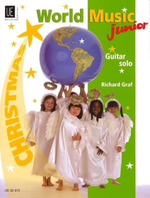 Graf Richard - Christmas World Music Junior – Guitar solo - Partition - di-arezzo.fr