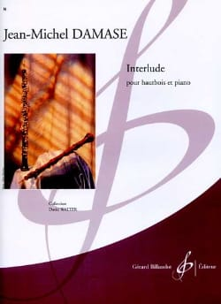 Interlude - Jean-Michel Damase - Partition - laflutedepan.com
