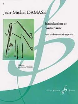 Introduction et Contredanse - Jean-Michel Damase - laflutedepan.com