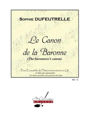 Sophie Dufeutrelle - The Canon of the Baroness - Sheet Music - di-arezzo.com