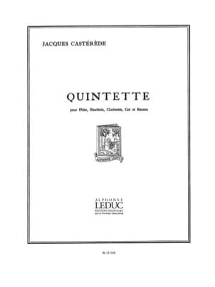 Jacques Castérède - Quintette à Vents - Partition - di-arezzo.fr