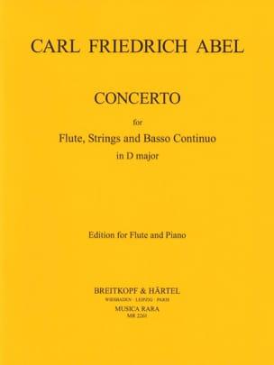 Concerto in D major - Flute piano Carl Friedrich Abel laflutedepan