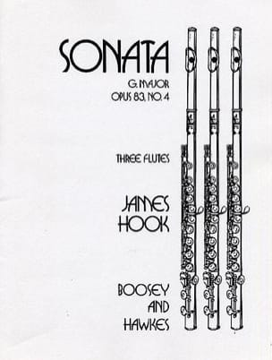 James Hook - Sonate G Dur op 83/4 - Partition - di-arezzo.fr