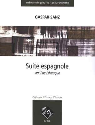 Gaspar Sanz - Suite espagnole – orchestre de guitares - Partition - di-arezzo.fr