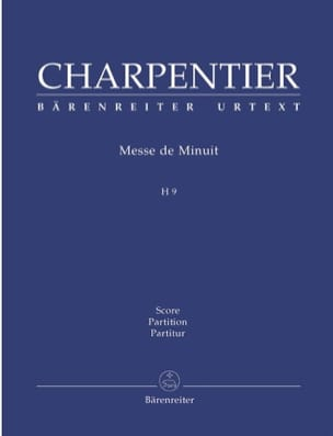 Messe de Minuit CHARPENTIER Partition Grand format - laflutedepan