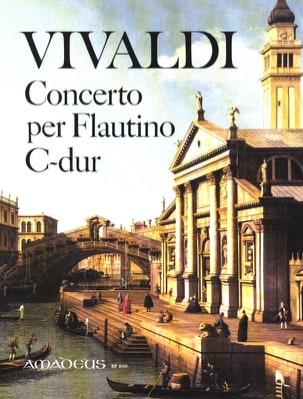 VIVALDI - Concerto C-Dur per flautino op. 44 n° 11 - Partition - di-arezzo.fr