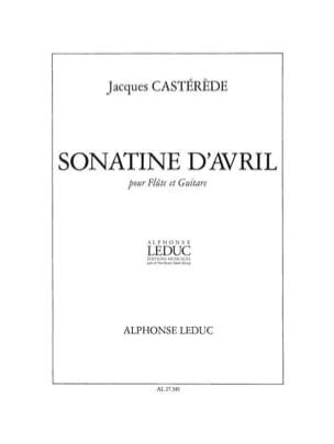 Jacques Castérède - Sonatine d'avril - Partition - di-arezzo.fr