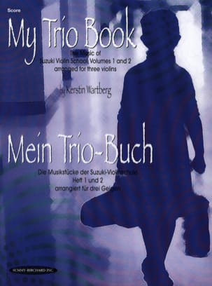 My Trio Book - Score Kerstin Wartberg Partition Violon - laflutedepan