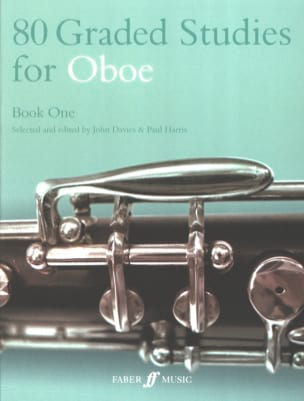 Davies John / Harris Paul - 80 Graded studies for oboe - Book 1 - Sheet Music - di-arezzo.co.uk