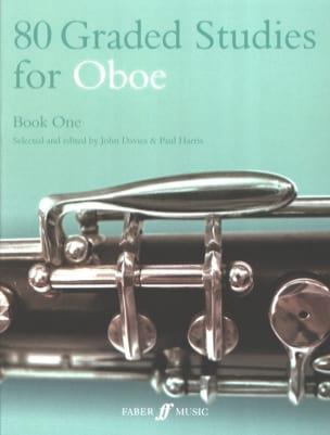 Davies John / Harris Paul - 80 Graded studies for oboe - Book 1 - Sheet Music - di-arezzo.com