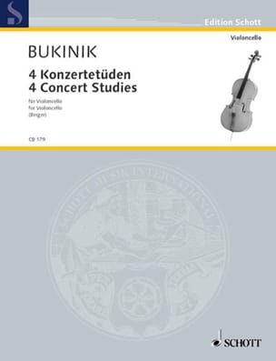 Mikhail Bukinik - 4 Konzertetüden - Sheet Music - di-arezzo.co.uk