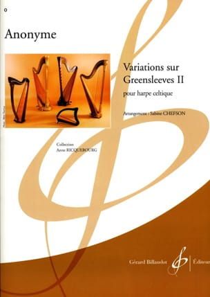 Variations on Greensleeves 2 - Sheet Music - di-arezzo.co.uk