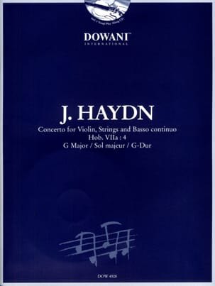 HAYDN - Violin Concerto G major. 7a: 4 - Sheet Music - di-arezzo.co.uk