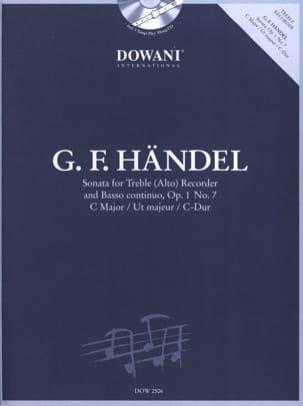 Sonate op. 1 n° 7 en ut maj. -Treble recorder Bc laflutedepan