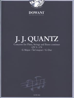 Johann Joachim Quantz - Flute Concerto QV 5: 174 sol maj. - Sheet Music - di-arezzo.com