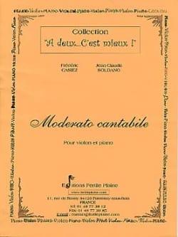 Casiez Frédéric / Soldano Jean-Claude - Moderato Cantabile - Partition - di-arezzo.fr