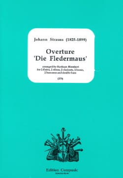 Johann (Fils) Strauss - Opening Die Fledermaus - Sheet Music - di-arezzo.co.uk