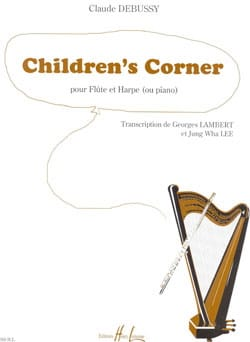 DEBUSSY - Children's Corner - Flauto e pianoforte arpa - Partitura - di-arezzo.it
