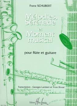 Mélodies, Sérénades et Moment Musical - laflutedepan.com