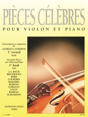 Georges Catherine - Famous Pieces Volume 1 - Sheet Music - di-arezzo.co.uk