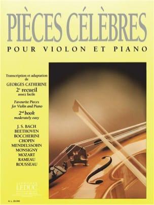 Georges Catherine - 有名な作品第2巻 - 楽譜 - di-arezzo.jp