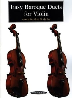 Betty M. Barlow - Easy Baroque Duets for Violin - Sheet Music - di-arezzo.com