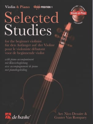 Selected Studies Dezaire - DE HASKE Partition Violon - laflutedepan