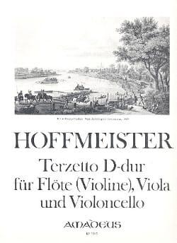 Terzetto D-Dur -Flöte Viola Cello HOFFMEISTER Partition laflutedepan