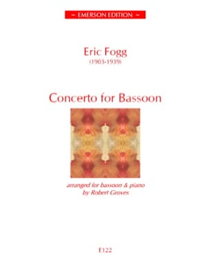 Concerto For Bassoon - Eric Fogg - Partition - laflutedepan.com