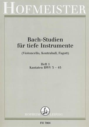 BACH - Bach Studien Kantaten - Sheet Music - di-arezzo.com