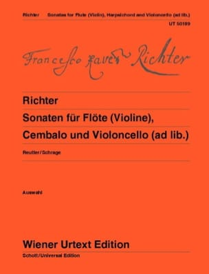 Sonaten für Flöte Violine Cembalo u. Cello ad lib. laflutedepan