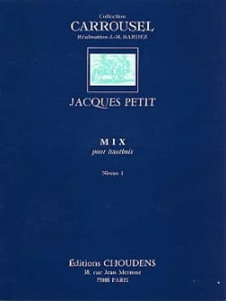Mix Jacques Petit Partition Hautbois - laflutedepan