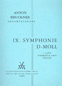 Symphonie Nr. 9 d-moll Anton Bruckner Partition laflutedepan