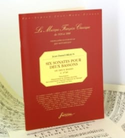 Jean-Daniel Braun - 6 Sonatas for 2 Bassoons or 2 Bass - Sheet Music - di-arezzo.co.uk