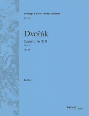 Symphonie N°8, Op. 88 - Partitur DVORAK Partition laflutedepan