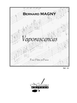 Bernard Magny - Vaporescences - Partition - di-arezzo.fr