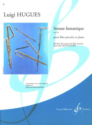 Luigi Hugues - Fantastic Sonata op. 100 - Sheet Music - di-arezzo.co.uk