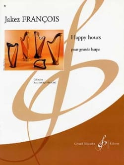 Happy Hours - Jakez Francois - Partition - Harpe - laflutedepan.com