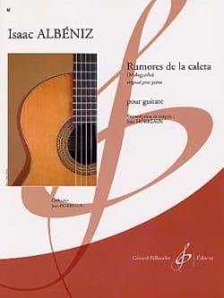 Rumores de la caleta - Isaac Albeniz - Partition - laflutedepan.com