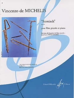 Vincenzo de Michelis - Scottisch op. 39 - Partition - di-arezzo.fr