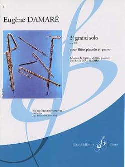 3ème Grand solo op. 410 - Eugène Damaré - Partition - laflutedepan.com