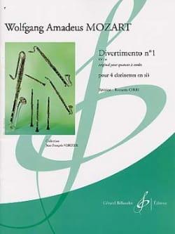 Wolfgang Amadeus Mozart - Divertimento N° 1 Kv 136 - Partition - di-arezzo.fr