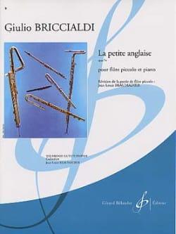 La petite anglaise op. 74 Giulio Briccialdi Partition laflutedepan