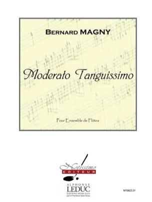 Bernard Magny - Moderato Tanguissimo - 6 Flûtes - Partition - di-arezzo.fr