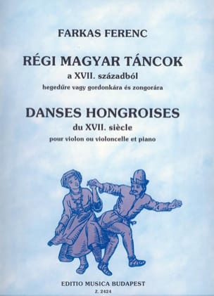 Ferenc Farkas - Hungarian dances of the 17th century - Violin Cello - Sheet Music - di-arezzo.com